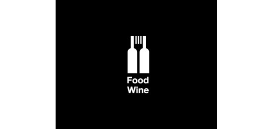 Food wine  Logo Design