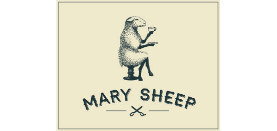 Mary Sheep Logo Design