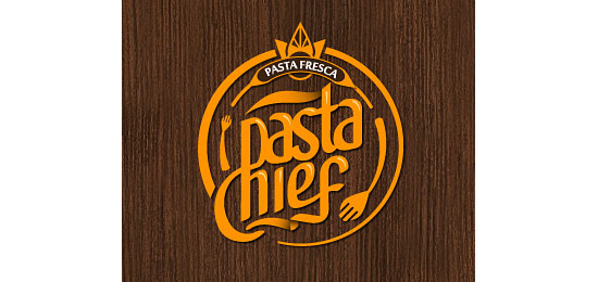 Pasta Chief Logo Design