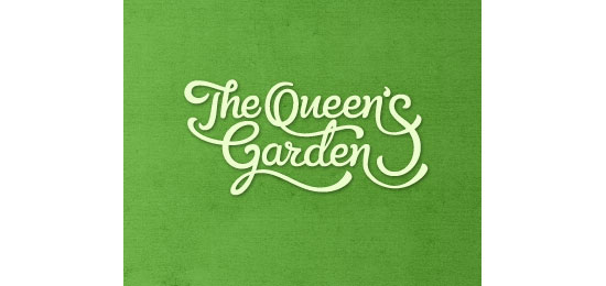 The Queen's Garden Logo Design