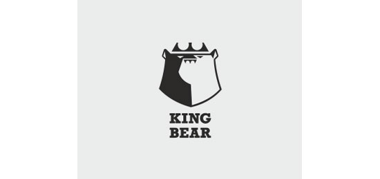 king bear Logo Design