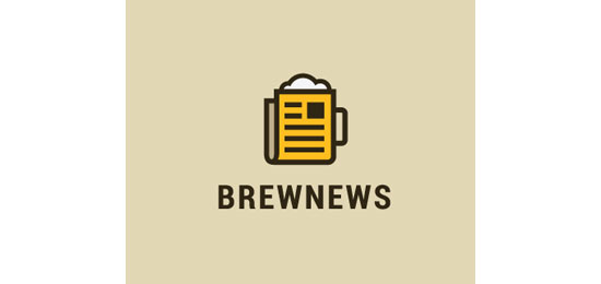 Brew News Logo Design Inspiration