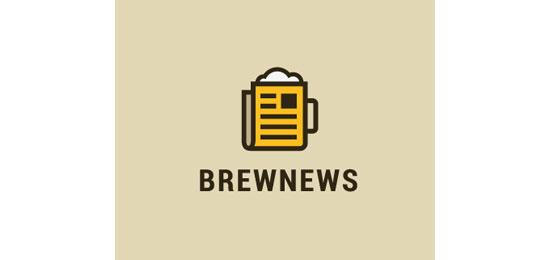 Brew News Logo Design Inspiration