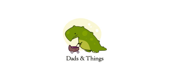 Dads & Things Logo Design Inspiration