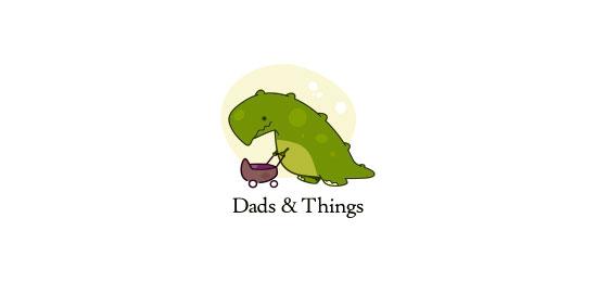 Dads & Things Logo Design Inspiration