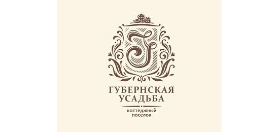 Gubernskaya Usadba Logo Design Inspiration