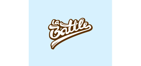 La Battle Logo Design Inspiration