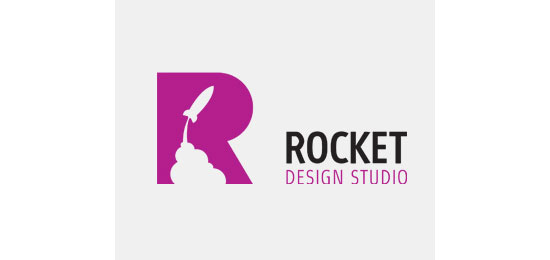 Rocket Studio Logo Design Inspiration