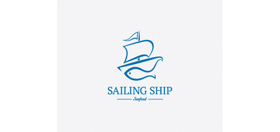 Sailing Ship Logo Design Inspiration