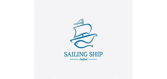 Sailing Ship Logo Design Inspiration