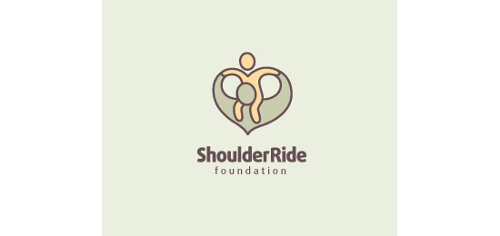 Shoulder Ride Foundation Logo Design Inspiration