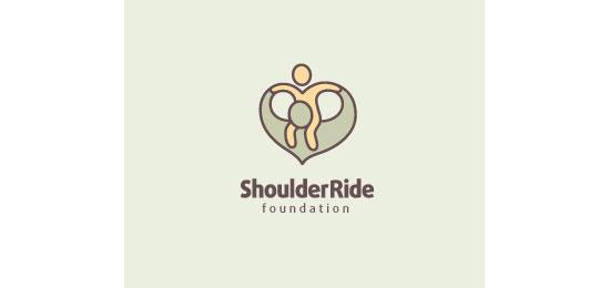 Shoulder Ride Foundation Logo Design Inspiration
