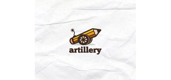 artillery Logo Design Inspiration