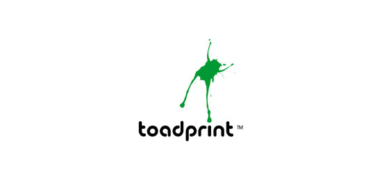 toadprint Logo Design Inspiration