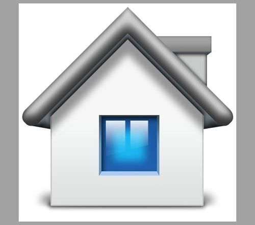 Create a Mac Style Home Icon in Photoshop