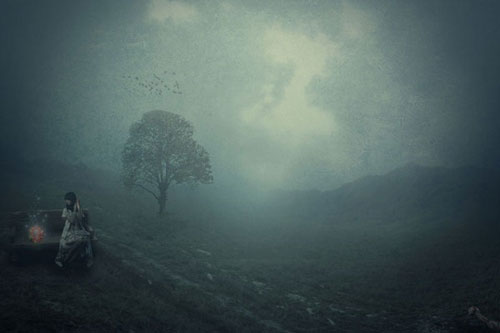 Create a Moody Landscape Photo Manipulation in Photoshop