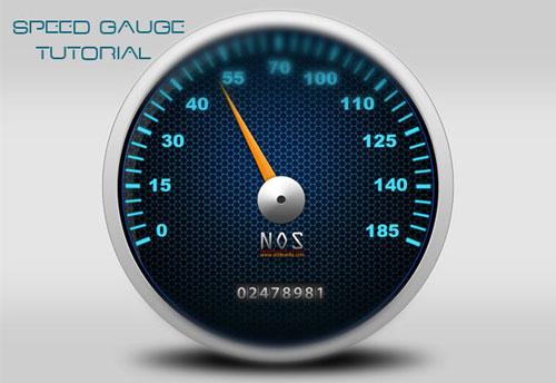 NOS Speed Gauge From Scratch