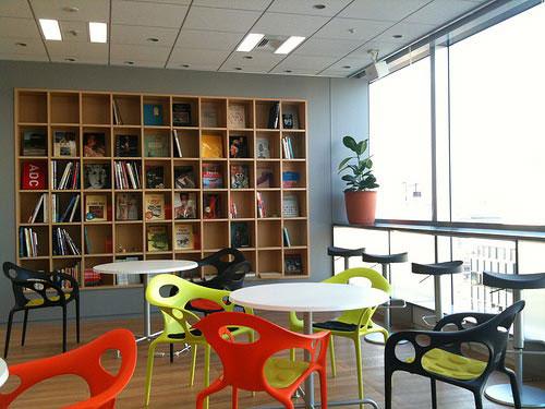 Digital Garage office - workplace 2