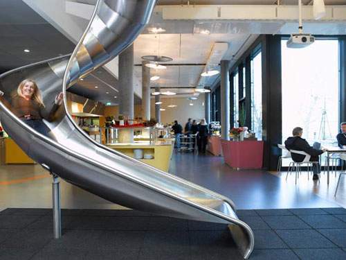 Google Zurich office -  workplace 2