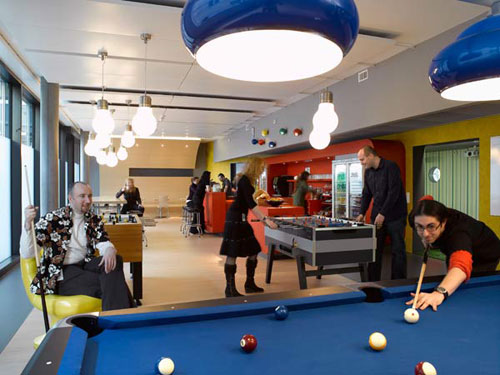 Google Zurich office -  workplace 6
