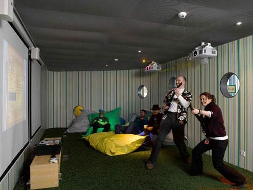 Google Zurich office -  workplace 7