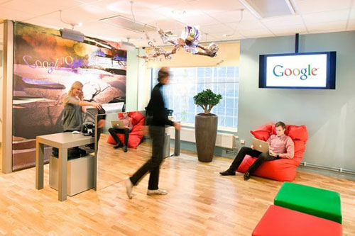 Google Stockholm office -  workplace 1