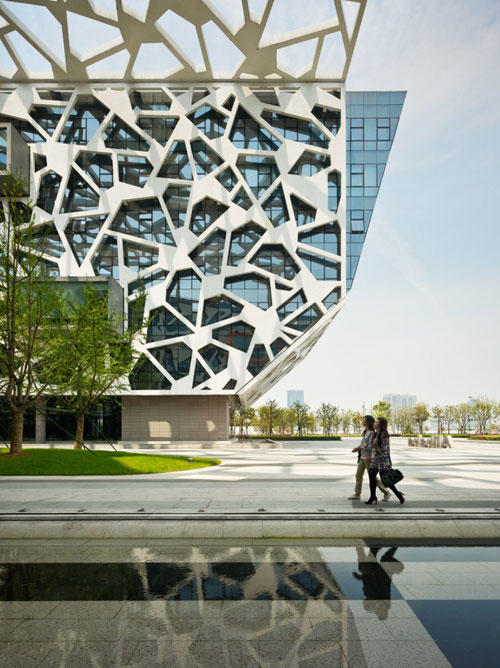 Alibaba Headquarters in Hangzhou, China - Office Buildings Architecture