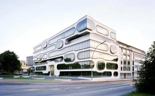 An der Alster 1 in Hamburg, Germany  - Office Buildings Architecture