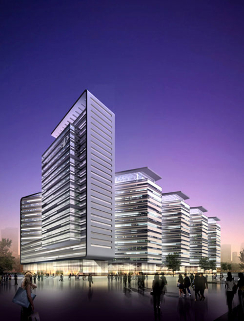 Beijing Patent Office in Beijing, China - Office Buildings Architecture