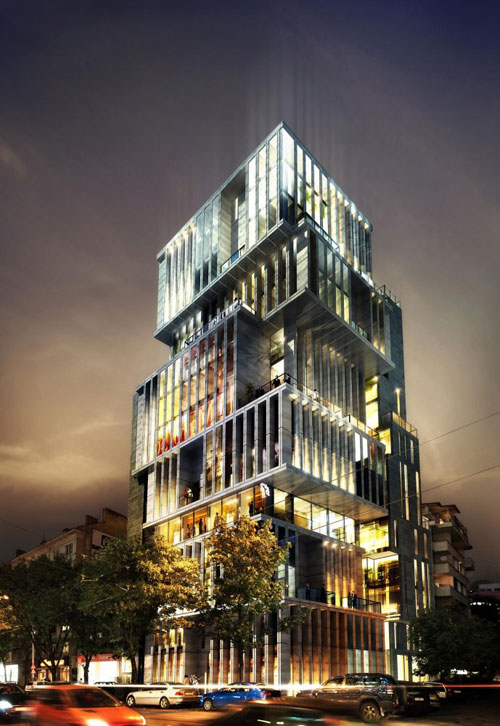 sofia building architecture office tower bulgaria nice buildings architect aedes architects studio bulgarian residential examples progress efficient offices structure development
