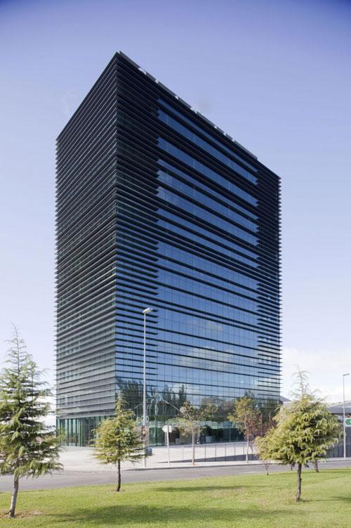 Caja De Guadalajara Office Building in Guadalajara, Spain - Office Buildings Architecture