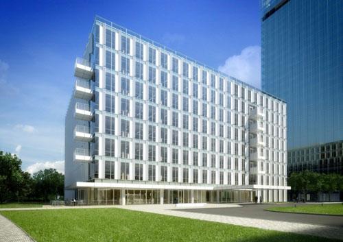 City Green Court in Prague, Czech Republic - Office Buildings Architecture