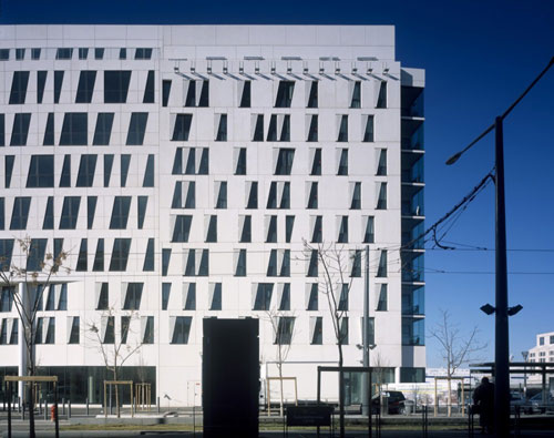 Coeur Mediterranée in Marseille, France - Office Buildings Architecture