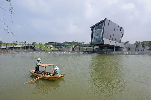 Giant Interactive Group Corporate Headquarters in Shanghai, China - Office Buildings Architecture