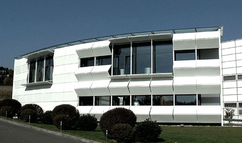 Kiefer Technic Showroom in Bad Gleichenberg, Austria  - Office Buildings Architecture