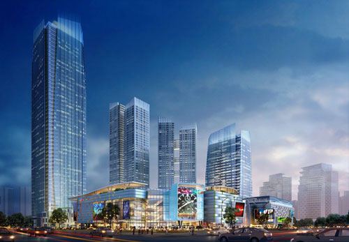New Chengdu City Center in Chengdu, China - Office Buildings Architecture