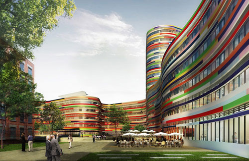 Office for Urban Development and Environment in Hamburg, Germany  - Office Buildings Architecture
