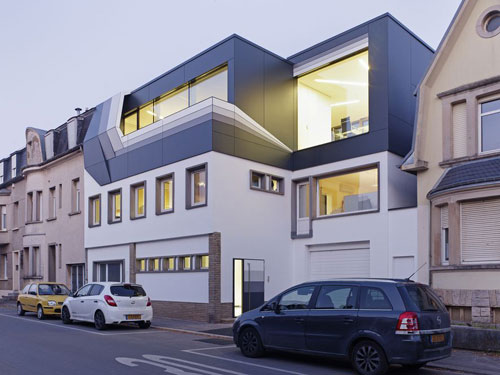 Roof Top Office in Dudelange, Luxembourg - Office Buildings Architecture