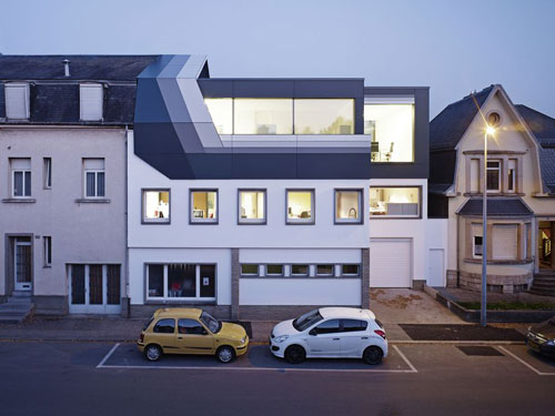 Roof Top Office in Dudelange, Luxembourg 2 - Office Buildings Architecture