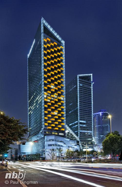 Yanlord Landmark in Chengdu, China - Office Buildings Architecture