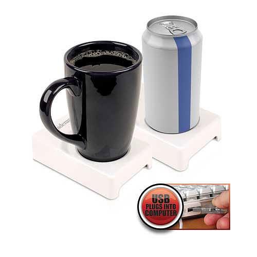 Excalibur USB Beverage Warmer/Cooler office gadget