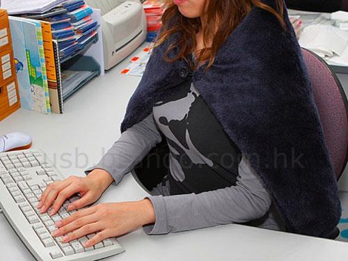 USB Heating Blanket office gadget