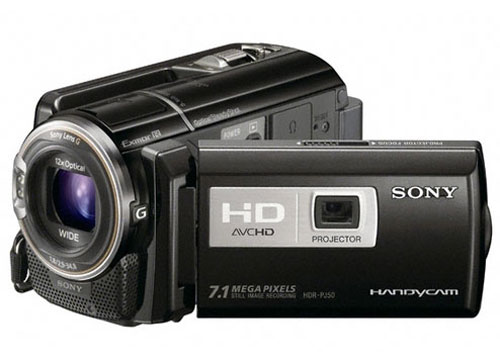 HDR-PJ50 - 220GB Hard Disk Drive Camcorder with Projecto