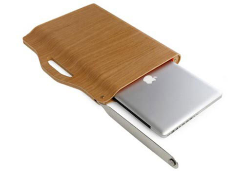 Wood Laptop Valise