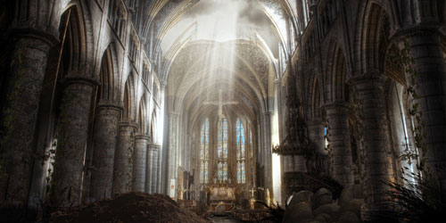 Create a Post-Apocalyptic Matte Painting