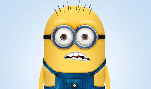 Create a Minion Character From the Despicable Me Movie