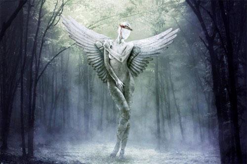 Create an Intricate Mythological Statue Photomanipulation Photoshop Tutorial