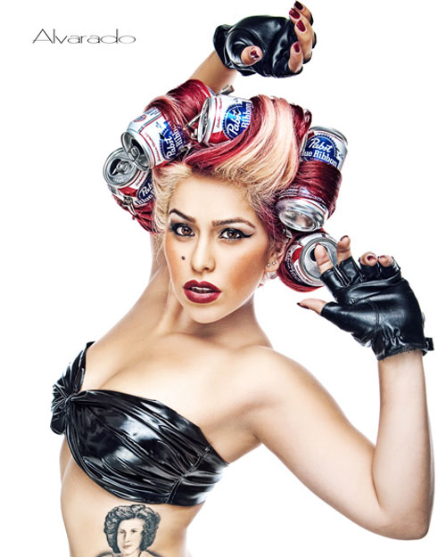 lady gaga Attractive Pin-Up Photography