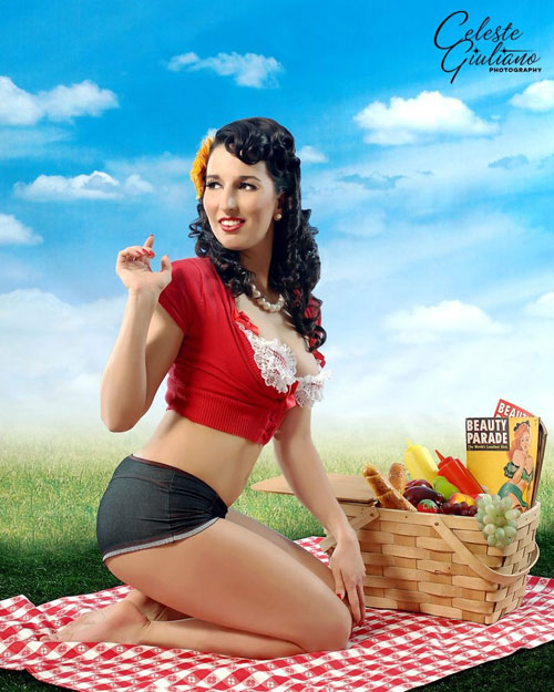picnic 1 Attractive Pin-Up Photography