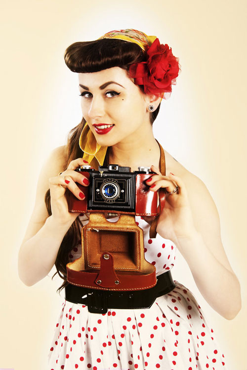 photo girl Attractive Pin-Up Photography